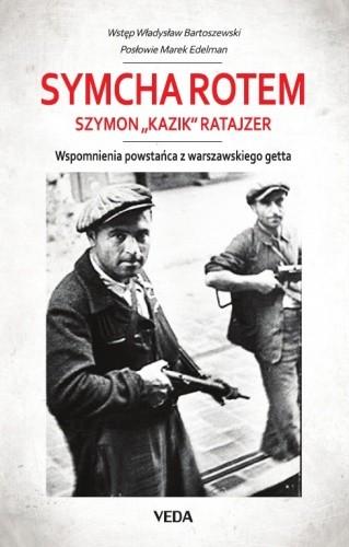 Okładka książki Wspomnienia powstańca z getta warszawskiego