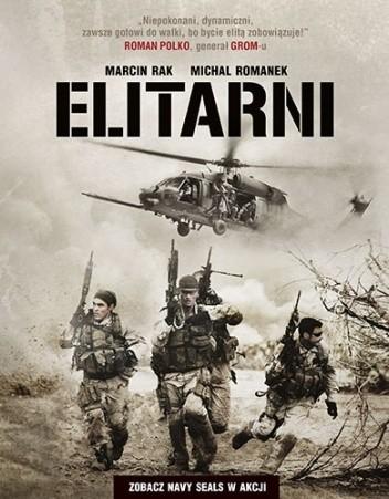 Okładka książki Elitarni. Zobacz Navy SEALs w akcji