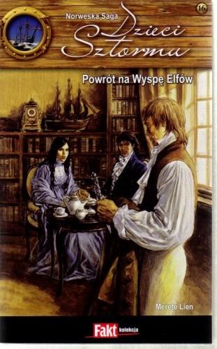 Okładka książki Powrót na Wyspę Elfów