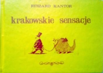 Okładka książki Krakowskie sensacje