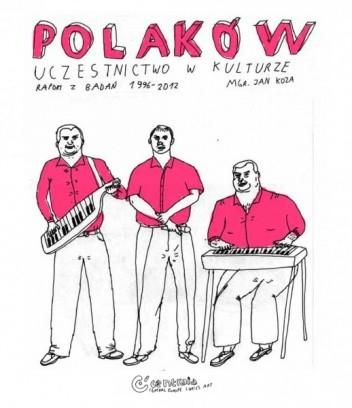 Okładka książki Polaków uczestnictwo w kulturze. Raport z badań 1996-2012