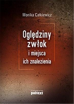 Okładka książki Oględziny zwłok i miejsca ich znalezienia