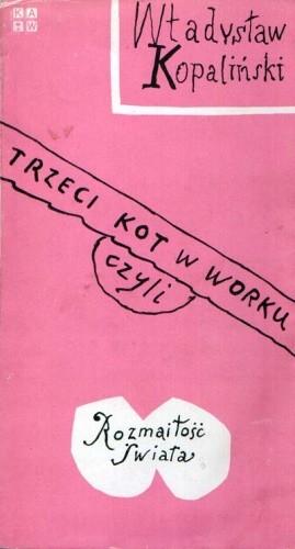 Okładka książki Trzeci kot w worku czyli rozmaitość świata