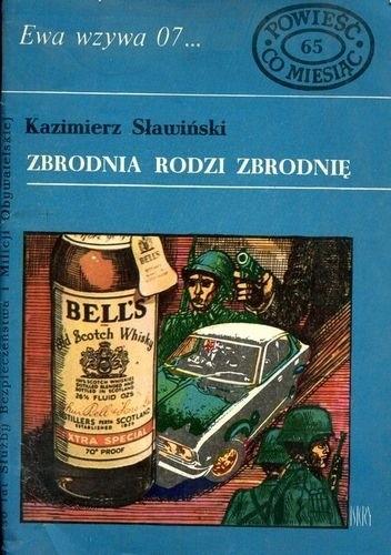 Okładka książki Zbrodnia rodzi zbrodnię