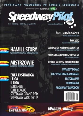 Okładka książki Speedway Pilot