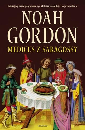 Okładka książki Medicus z Saragossy