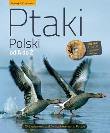Okładka książki Ptaki Polski od A do Ż