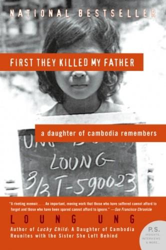Okładka książki First They Killed My Father