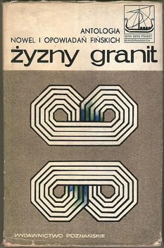 Okładka książki Żyzny granit. Antologia nowel i opowiadań fińskich