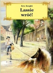 Okładka książki Lassie wróć!