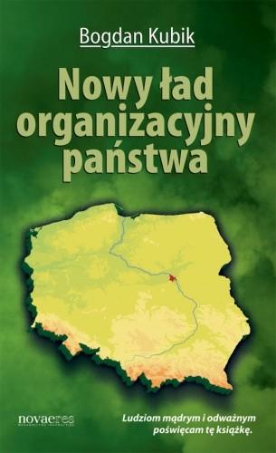 Okładka książki Nowy ład organizacyjny państwa