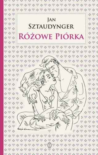 Okładka książki Różowe piórka