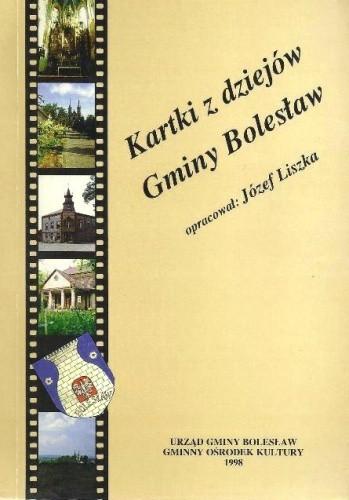 Okładka książki Kartki z dziejów Gminy Bolesław