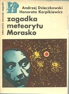 Okładka książki Zagadka meteorytu Morasko
