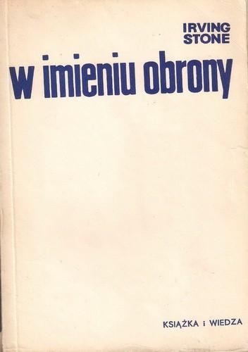Okładka książki W imieniu obrony