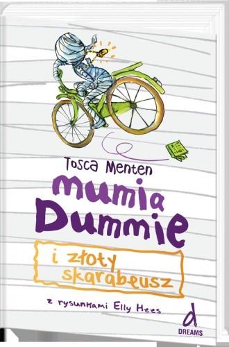 Okładka książki Mumia Dummie i złoty skarabeusz