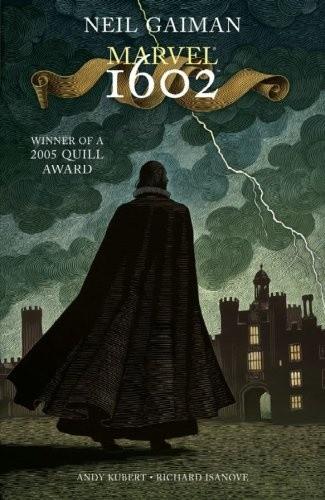 Okładka książki Marvel 1602