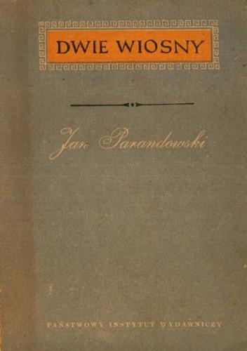 Okładka książki Dwie wiosny