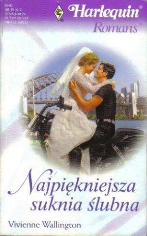 Okładka książki Najpiękniejsza suknia ślubna