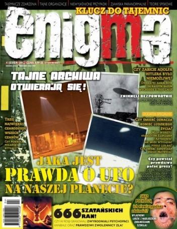 Okładka książki Enigma - Klucz do tajemic, nr 4/2012