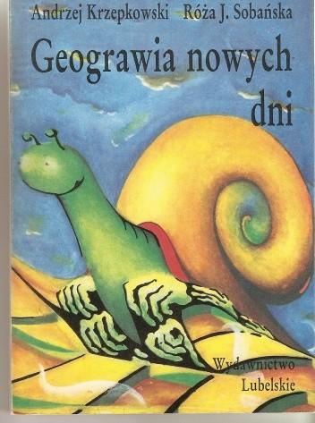 Okładka książki Geograwia nowych dni