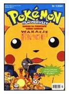 Okładka książki Pokemon film pierwszy: Wakacje Pikachu