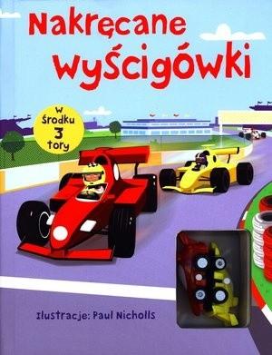 Okładka książki Nakręcane wyścigówki