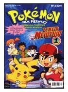 Okładka książki Pokemon film pierwszy: Zemsta Mewtwo, cz 1