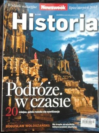 Okładka książki Newsweek - Historia nr 3/2012