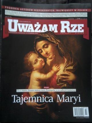 Okładka książki Uważam Rze nr 32[79]/2012