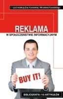 Okładka książki Reklama w społeczeństwie informacyjnym. Konteksty społeczno-edukacyjne