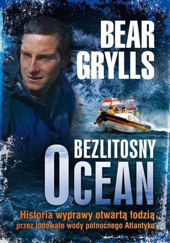Okładka książki Bezlitosny ocean. Historia wyprawy otwartą łodzią przez lodowate wody północnego Atlantyku