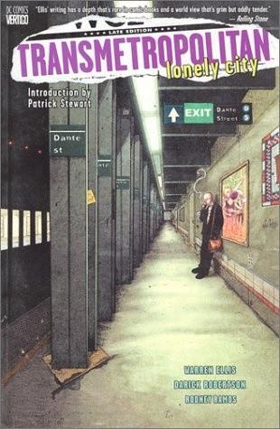 Okładka książki Transmetropolitan, Vol. 5: Lonely City