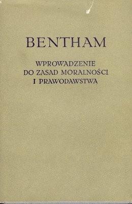 Okładka książki Wprowadzenie do zasad moralności i prawodawstwa