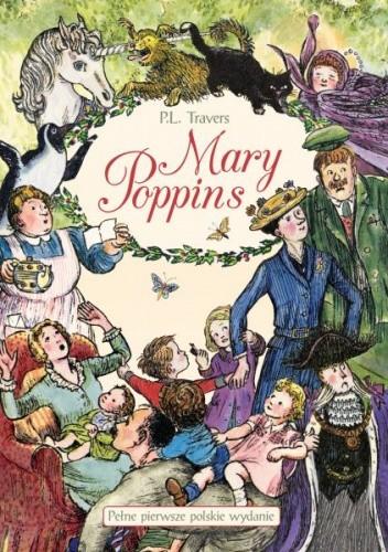 Okładka książki Mary Poppins. Opowieści zebrane