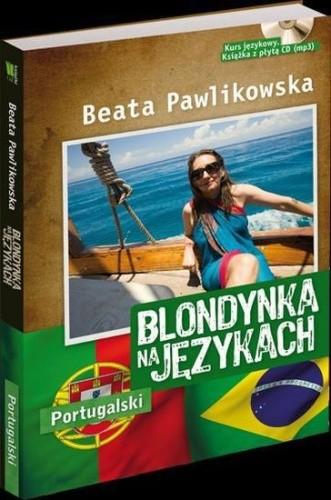 Okładka książki Blondynka na językach. Portugalski