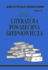 Okładka książki Literatura powszechna średniowiecza zeszyt opracowań nr 61