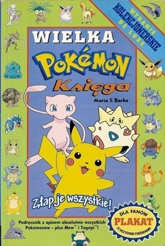 Okładka książki Wielka księga Pokemon