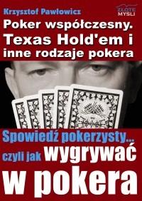Okładka książki Poker współczesny. Texas Hold'em i inne rodzaje pokera