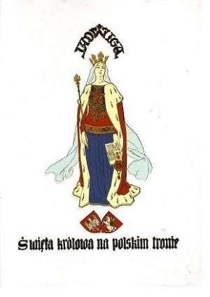 Okładka książki Jadwiga : święta królowa na polskim tronie : opowieść dziejowa w trzech tomach