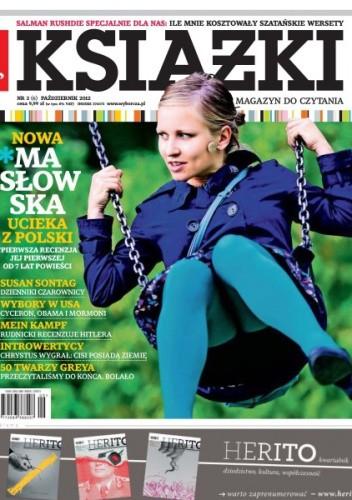 Okładka książki Książki. Magazyn do czytania, nr 6 / wrzesień 2012