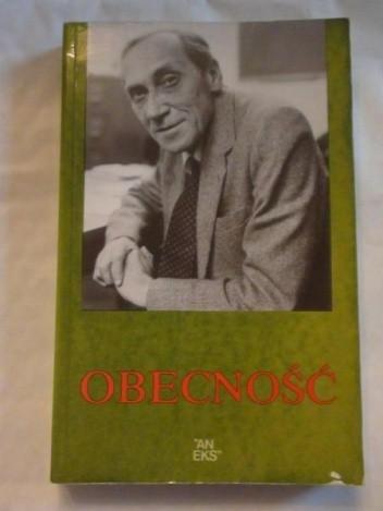 Okładka książki Obecność. Leszkowi Kołakowskiemu w 60 rocznicę