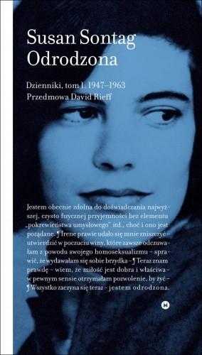 Okładka książki Odrodzona. Dzienniki 1947-1963