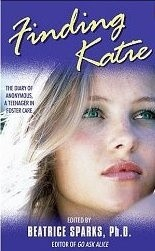 Okładka książki Finding Katie: The Diary of Anonymous, a Teenager in Foster Care