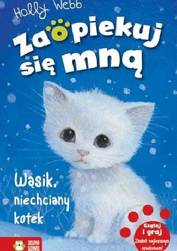 Okładka książki Wąsik, niechciany kotek