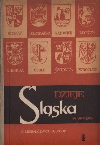 Okładka książki Dzieje Śląska w wypisach