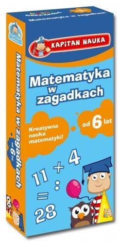 Okładka książki Matematyka w zagadkach