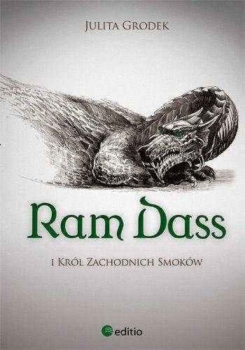 Okładka książki Ram Dass i Król Zachodnich Smoków