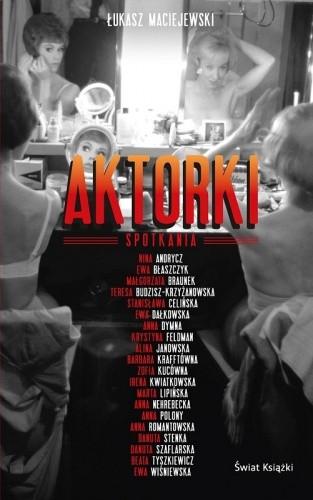 Okładka książki Aktorki. Spotkania