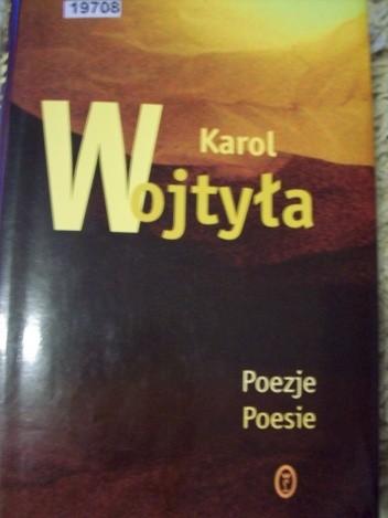 Okładka książki Poezje. Poesie